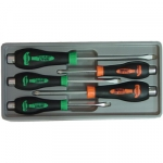 5PC MECHANIC GO THRU SCREWDRIVER SET